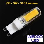 ampoule G9 wedoo led BTFAMPG9F3