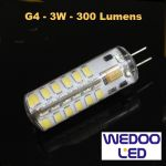 ampoule wedoo led G4 BTFAMPG4L3
