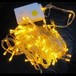 Guirlande led 10 m�tres jaune - Ref GRLLED02 (Lot 100 pi�ces)