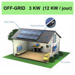 kit solaire 3KW off grid