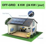 kit solaire 6KW off grid