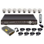 kit video surveillance KITVID81