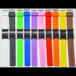 montre digitale bracelet silicone