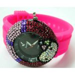 Montre Quartz strass style diamants - WS1134 (Lot de 10 pcs)