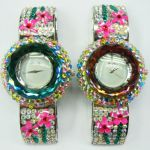 Montre Quartz avec strass et cristal - WS1154 (Lot de 10 pcs)