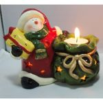 Porte-bougies de Noël - éclairage Led - Ref 2007 (Lot 360 pcs)