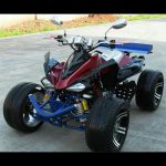 Quad 250 cc - 4 temps - 100 Km/h - QUAD25023 (Lot 5 pcs)