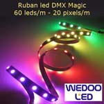 ruban led DMX magic BTFMD6020IP65