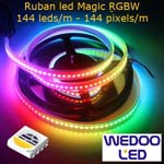 ruban led magic RGBW 144 led BTFMGW1414IP68