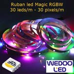ruban led magic RGBW 30 led BTFMGW3030IP68