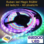 ruban led magic RGBW 60 led BTFMGW6060IP65