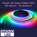 ruban led magic RGBW dmx BTFMDW6020IP65