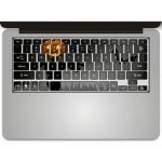 Stickers pour clavier laptop Apple - Ref STKLAP14 (Lot 100 pcs)
