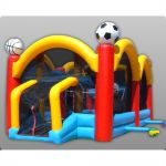 Structure gonflable - Sports extrêmes - 15 x 6 x 6 m