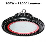suspension industrielle led UFO 100W SUSUFO100W