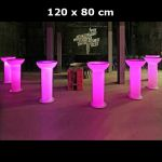 Table / colonne lumineuse 120 x 80 cm - HS8026C (Lot 10 pcs)