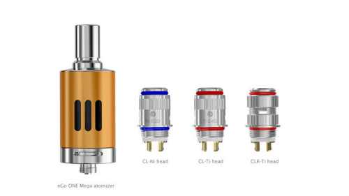 Atomiseur 5 ml pour cigarette electronique eGO ONE Mega VT1