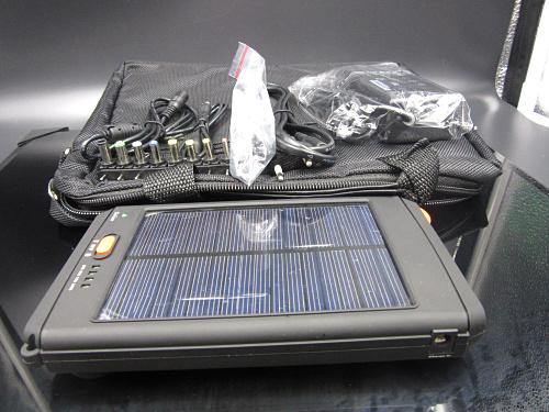 Chargeur solaire pour ordinateur portable 1