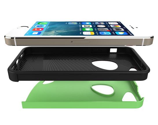 Coque pour Iphone 6 polycarbonate et silicone GC001 Lot de 50 pieces 5