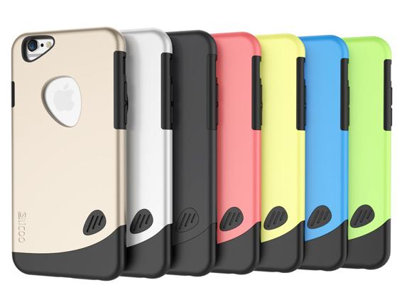 Coque pour Iphone 6 polycarbonate et silicone GC001 Lot de 50 pieces 8