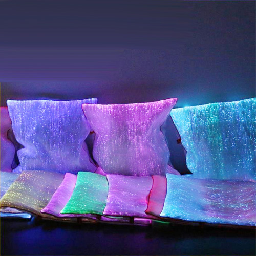 Housse lumineuse coussin oreiller pic3