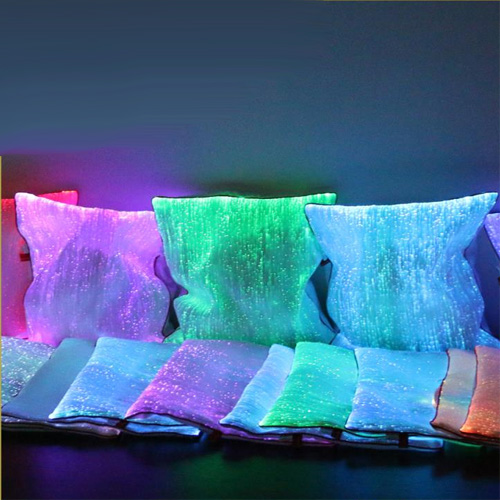 Housse lumineuse coussin oreiller pic6