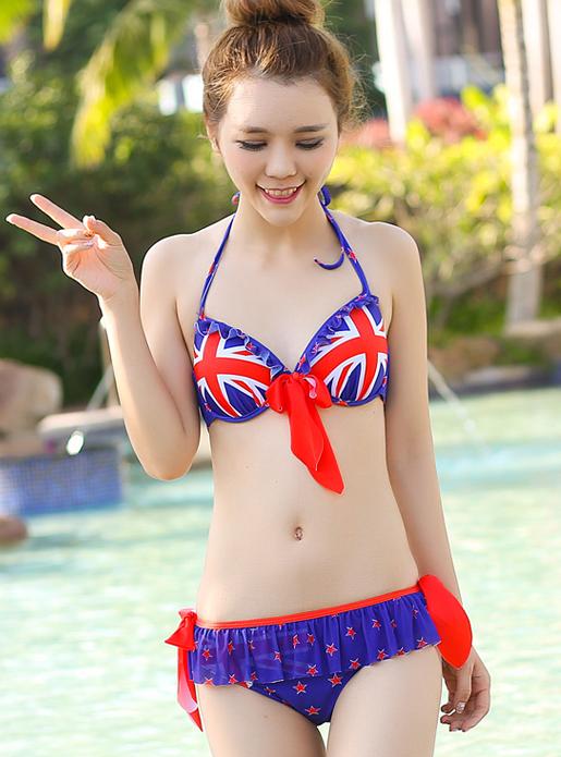 Maillot de bain bikini triangle BGN02 4