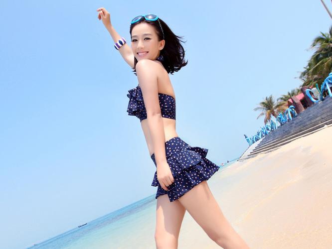 Maillot de bain bikini triangle BGN03 4