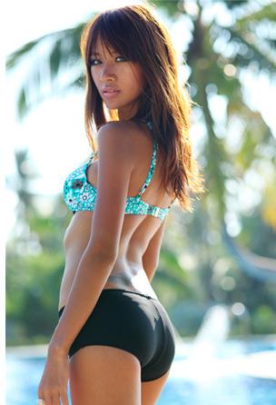 Maillot de bain bikini triangle BGN05 2