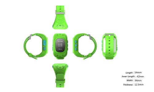 Montre traceur GPS enfants TRACW11 4