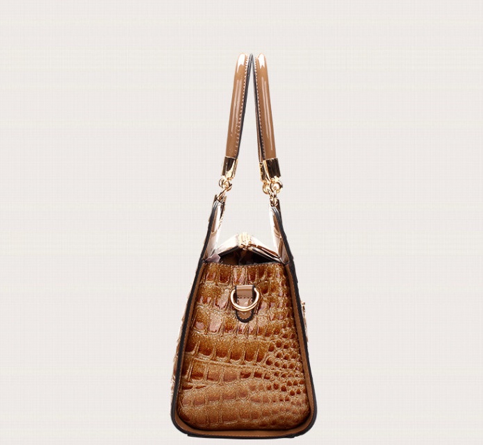 Sac a main imitation cuir crocodile J 213 3