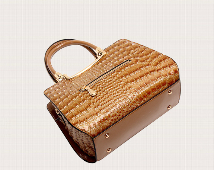 Sac a main imitation cuir crocodile J 213 4