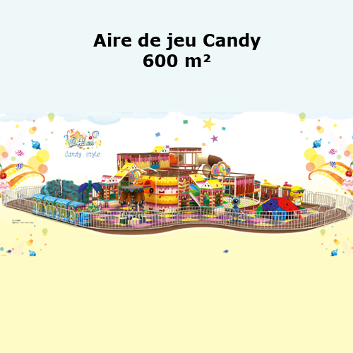 air de jeu candy 600m2
