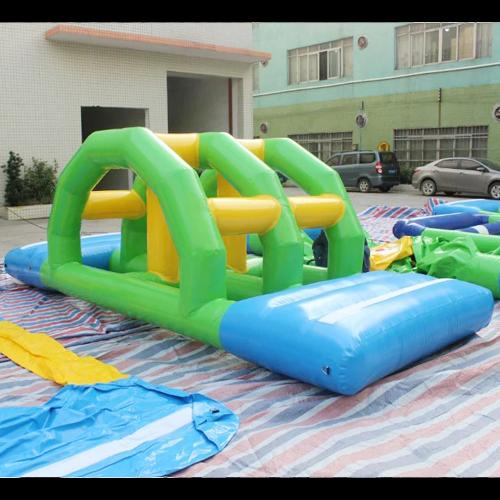 aire de jeu aquatique gonflable en ilots STRGNFJ552 pic13