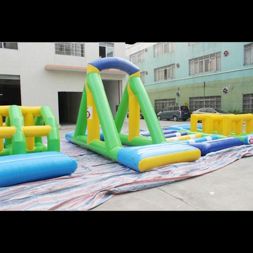 aire de jeu aquatique gonflable en ilots STRGNFJ552 pic15