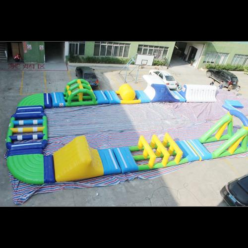 aire de jeu aquatique gonflable en ilots STRGNFJ552 pic6