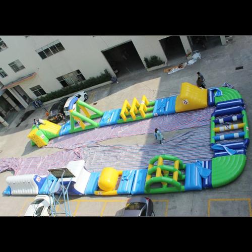 aire de jeu aquatique gonflable en ilots STRGNFJ552 pic8