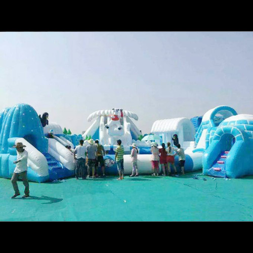 aire de jeu aquatique gonflable neige et glace STRGNFJ548 pic6