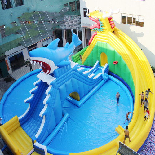 aire de jeu aquatique gonflable requin STRGNFJ551 pic6