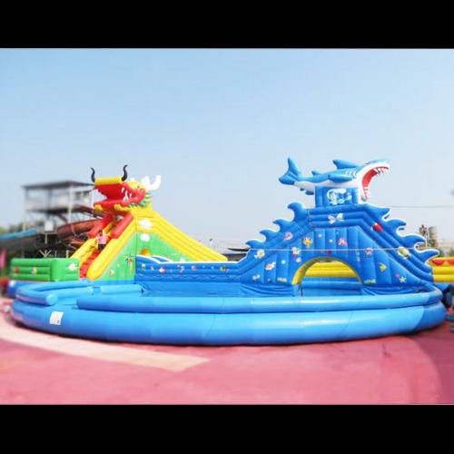 aire de jeu aquatique gonflable requin STRGNFJ551 pic7