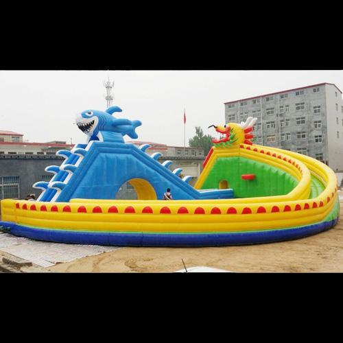 aire de jeu aquatique gonflable requin STRGNFJ551 pic8