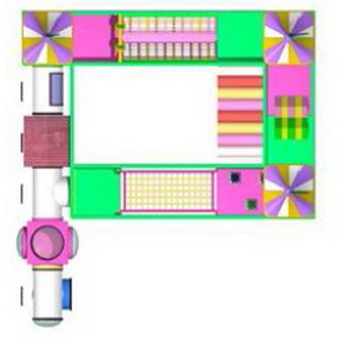 aire de jeux interieur AIR360 pic3