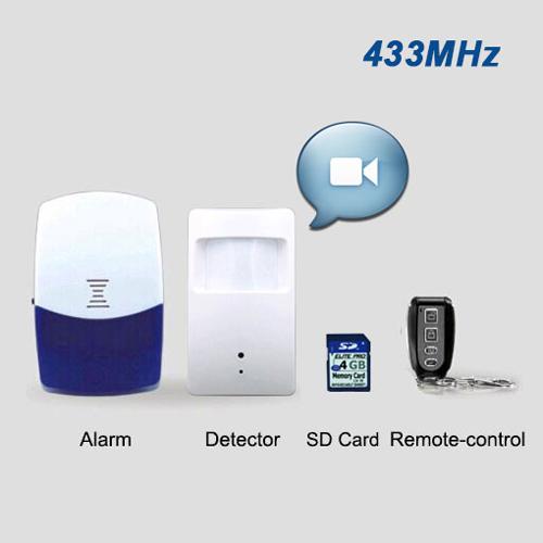 alarme volumetrique autonome camera CTOPPIR90D