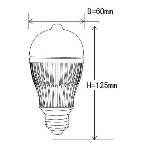 ampoule led 6W IR pic2