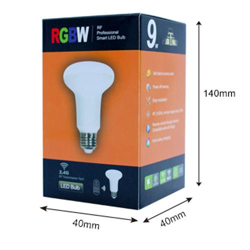 ampoule led RGBW 9W RF AMRGBW9W8012 pic5