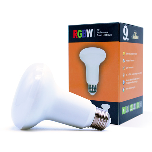 ampoule led RGBW 9W RF AMRGBW9W8012