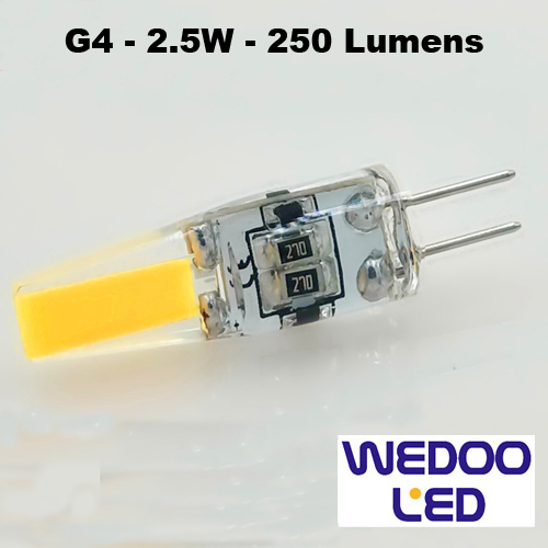 ampoule wedoo led G4 BTFAMPG4F25