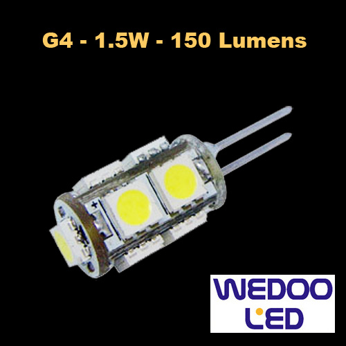 ampoule wedoo led G4 BTFAMPG4L15