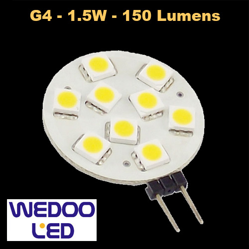 ampoule wedoo led G4 BTFAMPG4L152