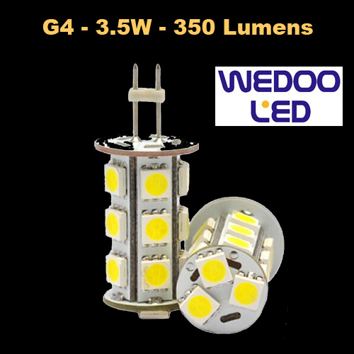 ampoule wedoo led G4 BTFAMPG4L353